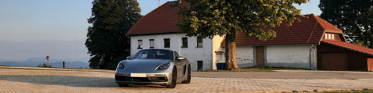 Rental: Porsche 718 Boxster GTS